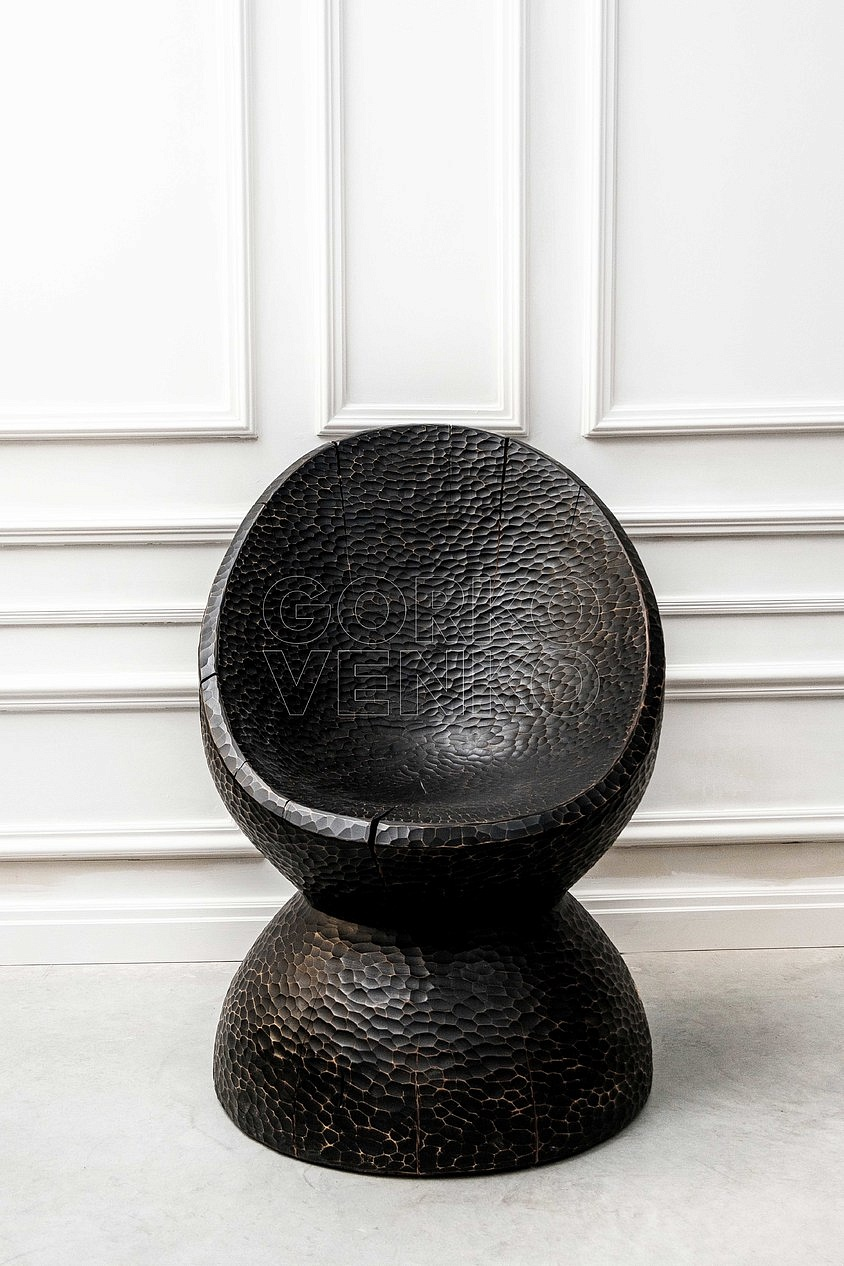 MASSON chair black shell